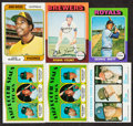 Baseball Cards:Lots, 1972-75 Topps Baseball Rookie Collection (6)....