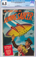 Golden Age (1938-1955):Science Fiction, Vic Torry & His Flying Saucer #nn (Fawcett Publications, 1950) CGC FN+ 6.5 Off-white to white pages....
