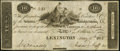 Obsoletes By State:Indiana, Lexington, IN- Indiana Manufacturing Co. $10 May 15, 1815 Extremely Fine.. ...