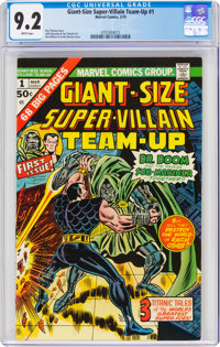 Giant-Size Super-Villain Team-Up #1 (Marvel, 1975) CGC NM- 9.2 White pages