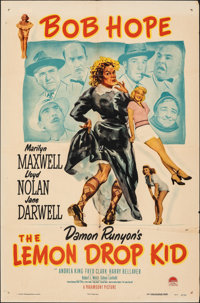 "The Lemon Drop Kid (Paramount, 1951). Folded, Fine/Very Fine. One Sheet (27"" X 41""). Comedy"