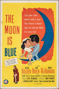 "Movie Posters:Comedy, The Moon Is Blue (United Artists, 1953). Folded, Fine. One Sheet (27"" X 41""). Comedy.. ..."