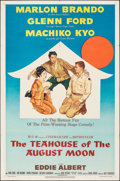 """Movie Posters:Comedy, The Teahouse of the August Moon (MGM, 1956). Folded, Very Fine-. One Sheet (27"""" X 41""""). Comedy.. ..."""