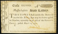 Colonial Notes:Massachusetts, Massachusetts Semi-Annual State Lottery. Mar. 2, 1790. Class the Second. New.. ...