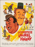 "Movie Posters:Comedy, The Further Perils of Laurel and Hardy (20th Century Fox, 1967). Folded, Fine/Very Fine. French Grande (47"" X 62"") Boris Gri..."