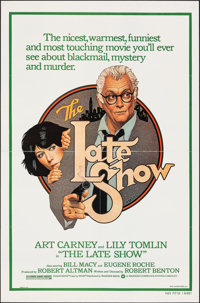 """The Late Show & Other Lot (Warner Bros., 1977). Folded, Very Fine. One Sheets (2) (27"""" X 41""""). Richard Ams..."""