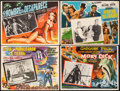 "Movie Posters:Science Fiction, The Day the Earth Stood Still & Other Lot (20th Century Fox, 1951). Overall: Very Fine-. Mexican Lobby Cards (4) (16.5"" X 12... (Total: 4 Items)"