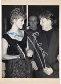 "Music Memorabilia:Autographs and Signed Items, Paul McCartney and Princess Diana Signed 6"" x 8 ½"" Photo.... (Total: 0 Items)"