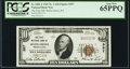 Selins Grove, PA - $10 1929 Ty. 1 The First National Bank Ch. # 357 PCGS Gem New 65PPQ