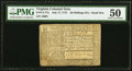 Colonial Notes:Virginia, Virginia July 17, 1775 20s PMG About Uncirculated 50.. ...