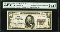 San Antonio, TX - $50 1929 Ty. 1 The Frost National Bank Ch. # 5179 PMG About Uncirculated 55 EPQ