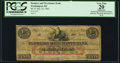 Obsoletes By State:District of Columbia, Washington, DC- Farmers and Merchants Bank 25¢ July 10, 1862 PCGS Apparent Very Fine 20.. ...