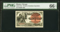 World's Columbian Exposition Indian Chief 1893 PMG Gem Uncirculated 66 EPQ