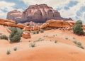 Works on Paper, D. Alanson Spencer (American, 1911-1999). On the Mesa. Watercolor on paper. 20-1/4 x 28-1/4 inches (51.4 x 71.8 cm) (sig...