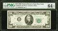 Low Serial Number Fr. 2065-B* $20 1963 Federal Reserve Note. PMG Gem Uncirculated 64 EPQ