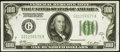 Small Size:Federal Reserve Notes, Fr. 2151-G $100 1928A Dark Green Seal Federal Reserve Note. Extremely Fine.. ...
