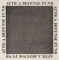 Prints & Multiples, Frank Stella (b. 1936). Attica Defense Fund, poster, 1975. Offset lithograph on satin wove paper. 29 x 29 inches (73.7 x...
