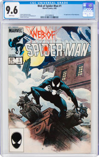 Web of Spider-Man #1 (Marvel, 1985) CGC NM+ 9.6 White pages