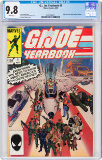 G. I. Joe Yearbook #1 (Marvel, 1985) CGC NM/MT 9.8 White pages