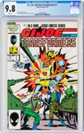Modern Age (1980-Present):Superhero, G. I. Joe and the Transformers #1 (Marvel, 1987) CGC NM/MT 9.8 White pages....