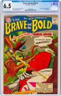 Silver Age (1956-1969):Adventure, The Brave and the Bold #9 (DC, 1956) CGC FN+ 6.5 Off-white pages....