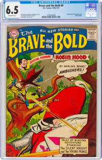 The Brave and the Bold #9 (DC, 1956) CGC FN+ 6.5 Off-white pages