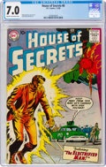 Silver Age (1956-1969):Adventure, House of Secrets #8 (DC, 1958) CGC FN/VF 7.0 Cream to off-white pages....