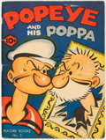 Platinum Age (1897-1937):Miscellaneous, Feature Books #5 Popeye (David McKay Publications, 1937) Condition: VG/FN....