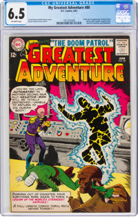 My Greatest Adventure #80 (DC, 1963) CGC FN+ 6.5 Off-white pages