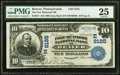 National Bank Notes:Pennsylvania, Beaver, PA - $10 1902 Date Back Fr. 617 The Fort McIntosh National Bank Ch. # (E)8185 PMG Very Fine 25.. ...