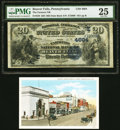 Beaver Falls, PA - $20 1882 Date Back Fr. 550 The Farmers National Bank Ch. # (E)4894 PMG Very Fine 25