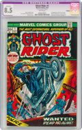 Bronze Age (1970-1979):Superhero, Ghost Rider #1 (Marvel, 1973) CGC Apparent VF+ 8.5 White pages....