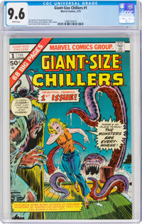 Giant-Size Chillers #1 (Marvel, 1975) CGC NM+ 9.6 White pages