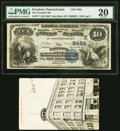 National Bank Notes:Pennsylvania, Freedom, PA - $10 1882 Value Back Fr. 577 The Freedom National Bank Ch. # (E)5454 PMG Very Fine 20.. ... (Total: 2 items)