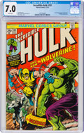 Bronze Age (1970-1979):Superhero, The Incredible Hulk #181 (Marvel, 1974) CGC FN/VF 7.0 White pages....