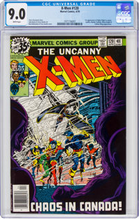 X-Men #120 (Marvel, 1979) CGC VF/NM 9.0 White pages