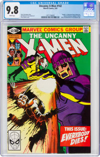 X-Men #142 (Marvel, 1981) CGC NM/MT 9.8 White pages