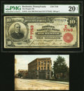 National Bank Notes:Pennsylvania, Rochester, PA - $10 1902 Red Seal Fr. 613 The Peoples National Bank Ch. # (E)7749 PMG Very Fine 20 EPQ.. ... (Total: 2 items)