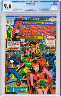 The Avengers #147 (Marvel, 1976) CGC NM+ 9.6 White pages