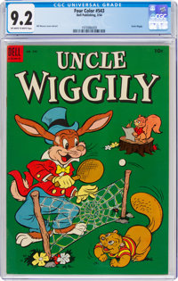 Four Color #543 Uncle Wiggily (Dell, 1954) CGC NM- 9.2 Off-white to white pages