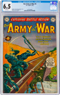 Golden Age (1938-1955):War, Our Army at War #5 (DC, 1952) CGC FN+ 6.5 White pages....