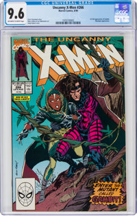 X-Men #266 (Marvel, 1990) CGC NM+ 9.6 Off-white to white pages