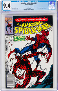 The Amazing Spider-Man #361 (Marvel, 1992) CGC NM 9.4 White pages