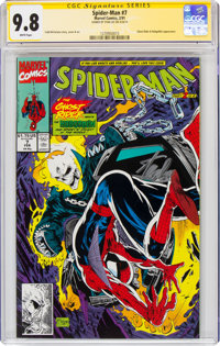 Spider-Man #7 Signature Series: Stan Lee (Marvel, 1991) CGC NM/MT 9.8 White pages