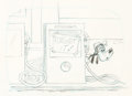 Animation Art:Production Drawing, Goofy Storyboard Drawing Original Art (Walt Disney, c. 1970s)....