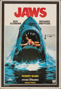 """Movie Posters:Horror, Jaws (Universal, 1981). Folded, Fine/Very Fine. First Release Turkish One Sheet (26.75"""" X 39""""). Horror.. ..."""