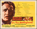 "Movie Posters:Academy Award Winners, On the Waterfront (Columbia, 1954). Folded, Fine/Very Fine. Half Sheet (22"" X 28"") Style B. Academy Award Winners.. ..."