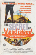 """Movie Posters:War, The Secret of Blood Island & Other Lot (Universal, 1965). Folded, Overall: Fine+. One Sheets (2) (27"""" X 41""""). War.. ... (Total: 2 Items)"""