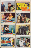 """Movie Posters:Science Fiction, The Unearthly & Other Lot (Republic, 1957). Fine/Very Fine. Title Lobby Cards (2) & Lobby Cards (5) (11"""" X 14""""). Science Fic... (Total: 7 Items)"""