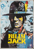 "Movie Posters:Action, Billy Jack (Warner Bros., 1971). Folded, Fine/Very Fine. French Moyenne (22"" X 31"") Piero Ermanno Iaia Artwork. Action.. ..."